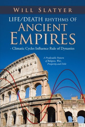 Compare Textbook Prices for Life/Death Rhythms of Ancient Empires - Climatic Cycles Influence Rule of Dynasties: A Predictable Pattern of Religion, War, Prosperity and Debt  ISBN 9781466926509 by Slatyer, Will