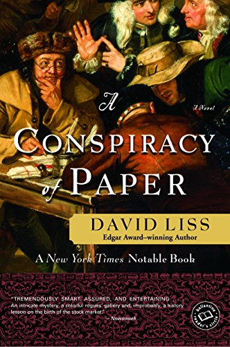 A Conspiracy of Paper: A Novel (Benjamin Weaver Book 1)