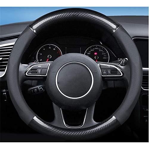 HCZSZH Car Steering-Wheels Cover 38cm 15',for Citroen DS3 DS4 DS5 DS6 DS7 DS5LS DS Wild Rubis
