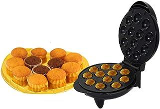LY-JFSZ Machines À Cupcakes Toasters, Mini Gâteau Maker, Gaufriers 1200W Petit Déjeuner Machine Électrique Roaster