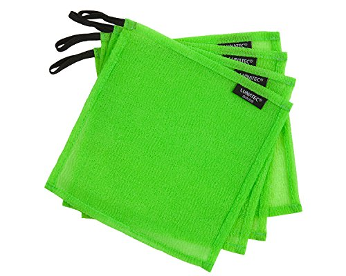 LUNATEC Odor-Free Dishcloths. The Perfect Scrubber, Dish Cloth, Sponge and scouring pad to Clean Your Dishes, pots & Pans, and Kitchen Gear. Ideal for Home, RV, Boat Galley and Camp site, Best Gifts For Boaters