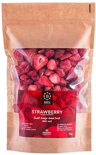 Gefriergetrocknete Erdbeeren 75g