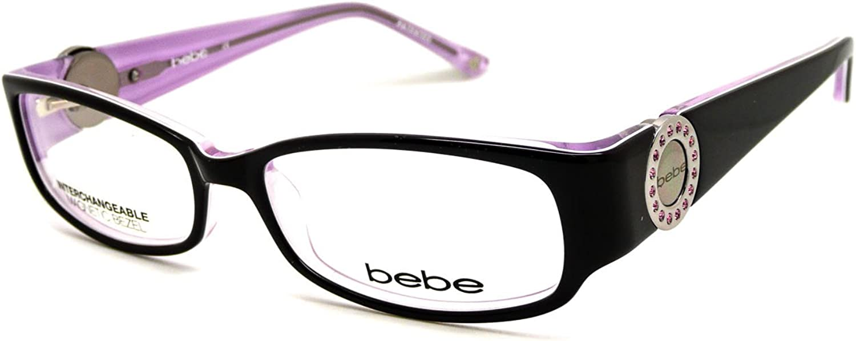 BEBE Eyeglasses BB5043 607 Brown pink 50MM