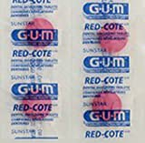 GUM Red-Cote Disclosing Plaque Tablets- Cherry Flavor (40 tablets)