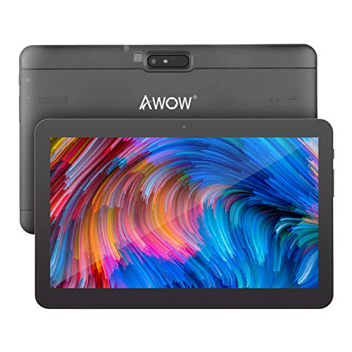 10.1 inch Android 10 Tablet, AWOW MID-1085 1GB RAM, 16GB Storage ( Micro SD card up to 64GB ), 5000mAh Battery Life, FPS full 720p HD Display, 1.5GHz Quad-Core Processor, Wi-Fi & Bluetooth