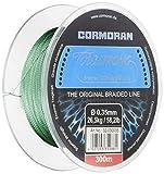 Cormoran Corastrong - Hilo trenzado (300 m), color verde verde verde Talla:0,20mm / 24,6lb