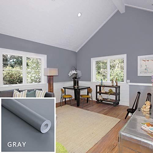 DFVVR Kind Color Shiny Furniture Refurbished Stickers PVC Removable Wallpaper Home De