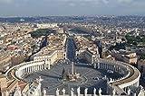 Puzzle de para Adultos Basílica de San Pietro Roma Ciudad del Vaticano Italia Puzzle De Madera Clásico Decoración -1000 piezas