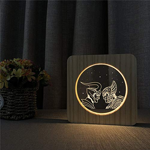 Only 1 Piece Spartak Battle Army Soldier 3D LED Arylic Night Lamp Table Light Carving Lamp for ns Room Decorate