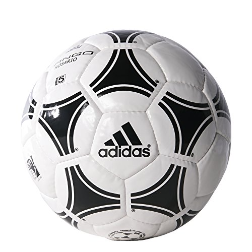 adidas Performance Tango Rosario Soccer Ball, White/Black/Black, Size 3