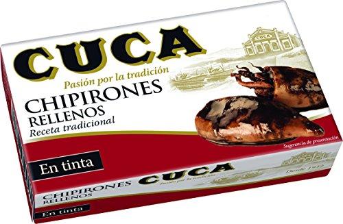 Cuca Chipirones Rellenos en su Tinta - 115 gr