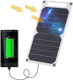 ليكسادا 10 واط شاحن لوحة شمسية 5 فولت USB منافذ للهاتف المحمول عالية الكفاءة الأنشطة في الهواء الطلق الإضاءة استخدام سيليك...