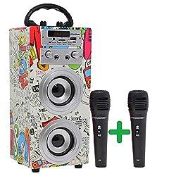 Haut-parleurs Bluetooth avec technologie TWS. DERNIÈRE VERSION (3ème génération) fabriquée sur la base du modèle précédent, maintient le même design mais inclut la nouvelle technologie TWS pour jumeler deux haut-parleurs similaires, et une meilleure ...