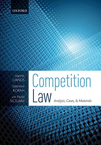 Competition Law: Analysis, Cases, & Materials (English Edition)