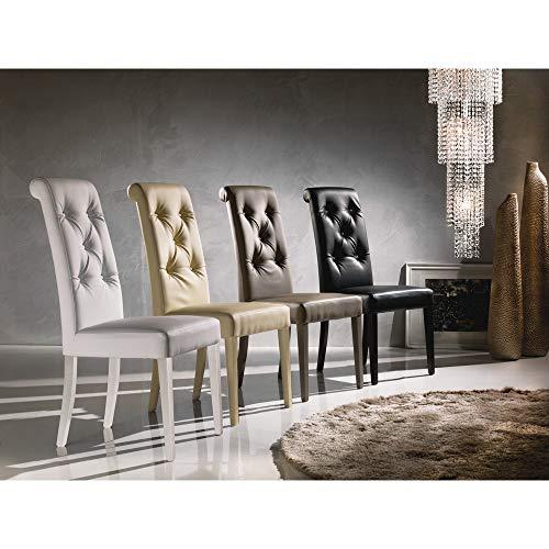 La Seggiola Set 4 sedie - Stella (Art. Billionaire)