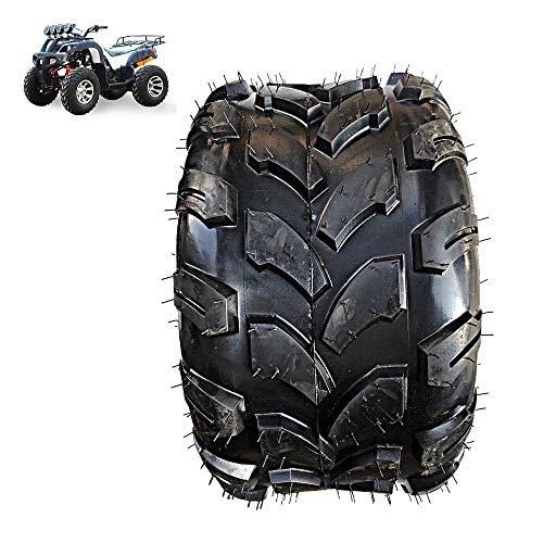 DGHJK Elektroroller-Reifen, 18X9,5-8 schlauchlose Reifen, 8 Zoll Dicke Cross-Country-Drag Flowers Verschleißfeste Anti-Rutsch-Reifen, geeignet für ATV-gerodete Teile
