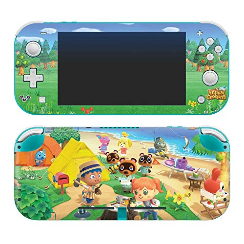 Controller Gear Authentic and Officially Licensed Animal Crossing: New Horizons - On The Beach - Nintendo Switch Lite Skin - Not Machine Specific