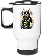 セラミック旅行ホワイトカップThe Mountainトム猫コーヒー魔法瓶マグカップコーヒータンブラー