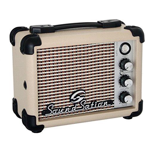 SOUNDSATION MPA 10G - Mini Amplificatore Portatile 5W a Batteria e Corrente Per Chitarra