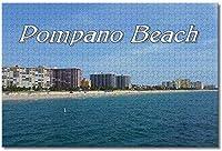 BEI YU MAN.co アメリカアメリカポンパノビーチフロリダ大人のためのジグソーパズル子供1000個ギフトのための木製パズルゲーム家の装飾特別な旅行のお土産