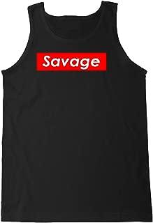 FTD Apparel Men's Savage Supreme Logo Box Tank Top