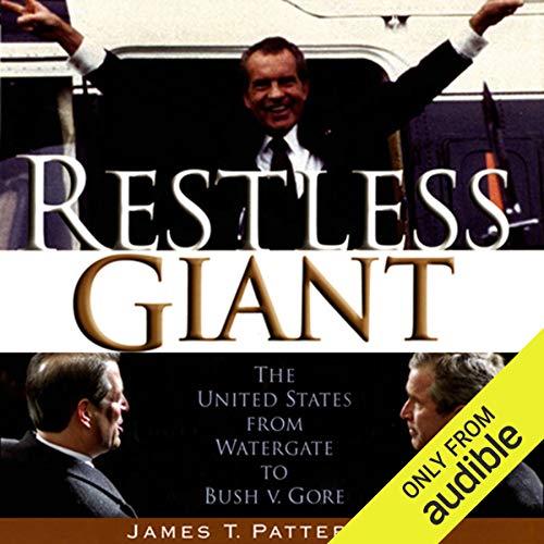 Restless Giant audiobook cover art