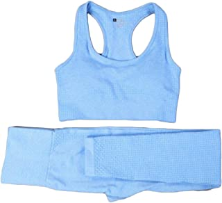 XFKLJ Sports Bra Yoga Pants Sale Summer Women Gym Suit 2 Piece Set Women Gym Set Fitness Clothing Yoga Set Gym Clothing
