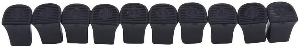 GLJYG Protecteurs de Talons Hauts Couvre-Talons de Chaussures antid/érapantes Cap R/éduit Le Bruit /Économiseurs de Talons Bouchons pour Les Mariages Courses Formel Outdoor,Noir 11-12 mm