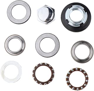 FLAMEER Motorbike Steering Fork Cup Cone with Bearing Bush Kit for Honda XR50 CL50 SL50 Z50R Z50 Mini Trail