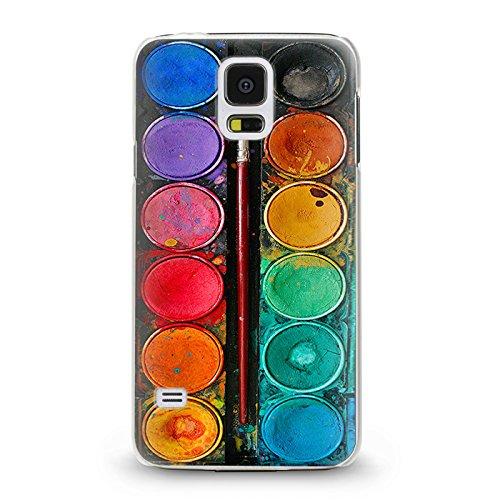 Trendario Handyhülle für Samsung Galaxy S5 Mini (Farbkasten) - Hülle - Schutzhülle mit Motiv - TPU Silikon Hülle - Case - Cover - Schale - Backcover - Handytasche