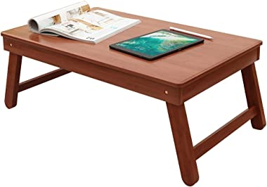 Coffee Table Folding Table Home Multi-Function Rectangular Small Table Portable Simple Outdoor Low Table Tables (Color : Brow
