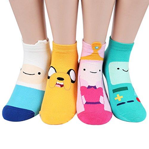 Socksense Animation Character Cartoon Series Damen Socken Original - - Einheitsgröße