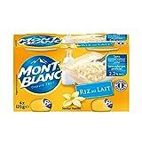 Mont Blanc - Riz Au Lait 500G - Lot De 4 - Prix Du Lot - Livraison Rapide En France...