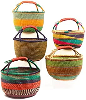 Best colorful african baskets Reviews