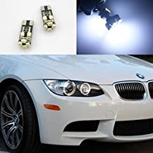 Partsam 2pcs Pre-LCI Angel Eyes Lights Replacement for BMW E60 Canbus Error Free 8 SMD LED Lamps