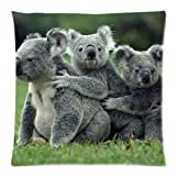 Hot New Arrival Cute Paly Koala Gary Pillow Cases - 18 x 18
