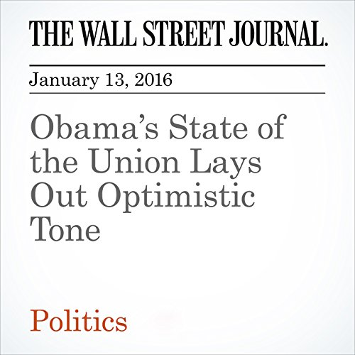 Obama's State of the Union Lays Out Optimistic Tone audiobook cover art
