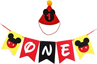 Best baby mickey mouse 1st birthday party ideas Reviews