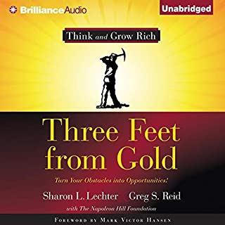 Three Feet from Gold audiobook cover art