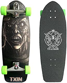 TXIN - Surfskate Zombie Nation 30,5 with T12 Surf Skate S...