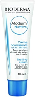 Bioderma Atoderm Nutritive Face Cream for Dry to Very Dry Sensitive Skin - 1.3 FL.OZ.