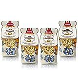 Livera Fusilli Bio 4 X 500 Gr, Pasta Cortas BIO de Sémola de Trigo Duro Bio 100% Made in Italy, Fusilli Elaborada en Bronce, Empaque de Pasta Seca, Cocina 12'