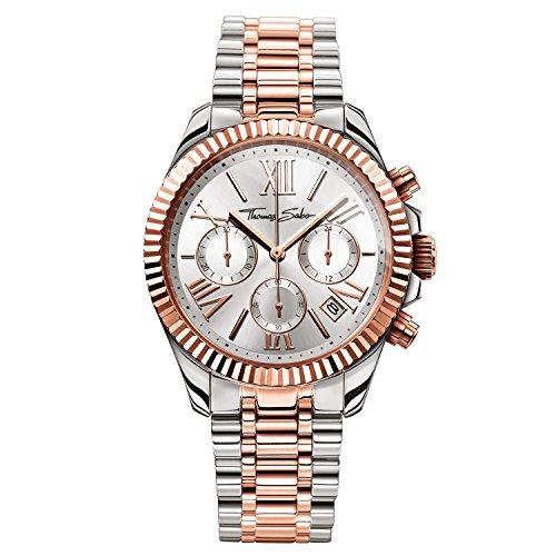 Thomas Sabo Watches, Orologio da donna 'DIVINE CHRONO', Acciaio
