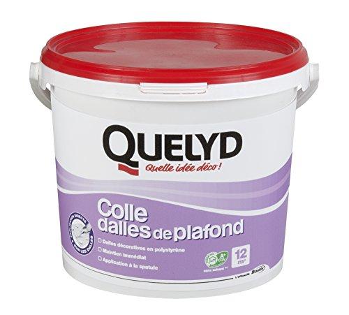 Quelyd Colle Dalles de Plafond Pâte - Seau de 4 kg