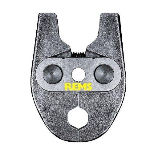 REMS Pressring (Presszangen) Mini V 15 mm - Zubehör für REMS Mini-Press, System AHLSELL A-press koppar, hochbelastbar, aus besonders zähhartem Spezialstahl, systemkonformes, sicheres Pressen