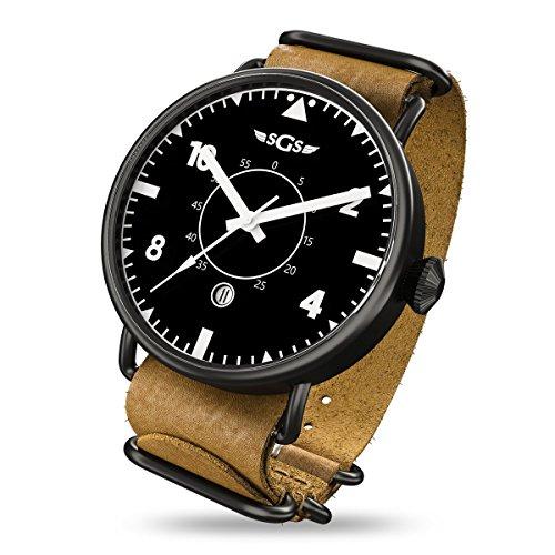 SGS Eagle ABWC - Men's Automatic Sapphire Crystal Pilot Watch
