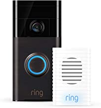 Ring Video Doorbell (Venetian Bronze) with Ring Chime