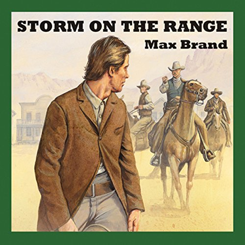 Storm on the Range audiobook cover art