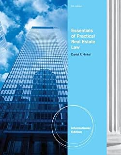 Essentials of Practical Real Estate Law, International Edition