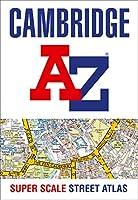 Cambridge A-Z Super Scale Street Atlas: A4 Paperback
